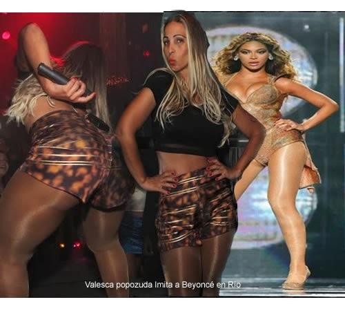 Valesca popozuda Imita a Beyoncé