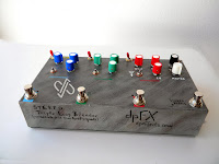 Tri Parallel Stereo FX Loop mixer, switcher