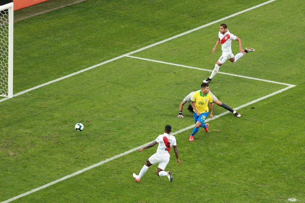 تقرير مباراة البرازيل وبيرو كوبا امريكا