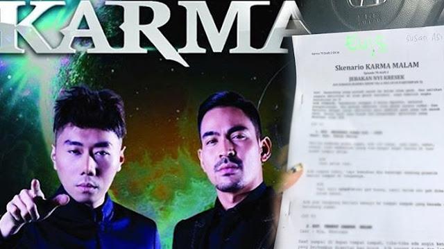 Beredar Skenario Karma, Netizen: Settingan ?