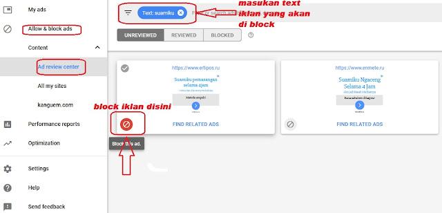 Memblokir Iklan Adsense Nakal dan Meresahkan