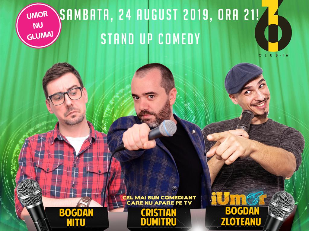 Stand Up Comedy in Bucuresti Sambata Seara