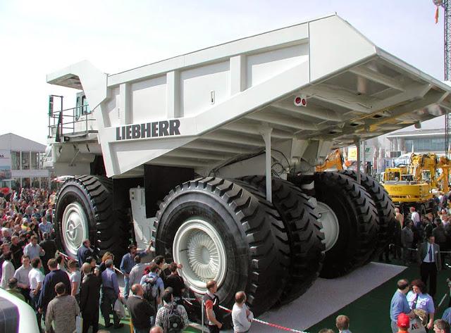 Liebherr T 282B Mining Truck - maiores caminhões de mineração do mundo
