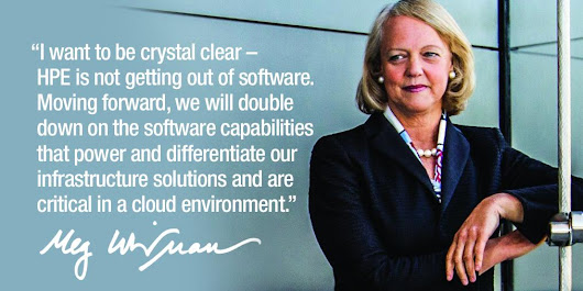 What Did Meg Whitman Really Mean?