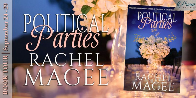 We're launching the Book Tour for POLITICAL PARTIES by Rachel Magee!