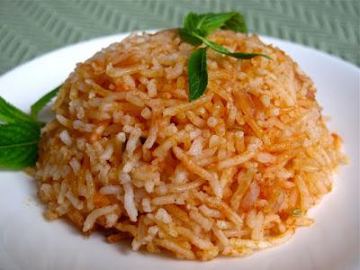 Resepi Nasi Tomato Mudah dan Sedap