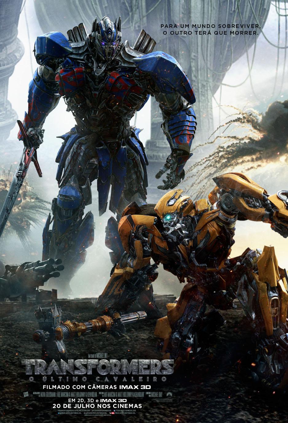Capa Transformers: O Último Cavaleiro Torrent Dublado 720p 1080p 5.1 Baixar