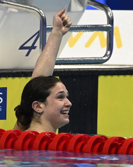 Nuoto, Europei: l'Italia chiude col triplo oro di Pilato (50 rana), Panziera (200 dorso) e Quadarella (400 stile libero)