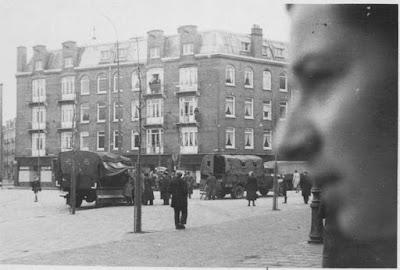 Razzia 20 juni 1943 in Amsterdam Oost, (foto: NIOD)