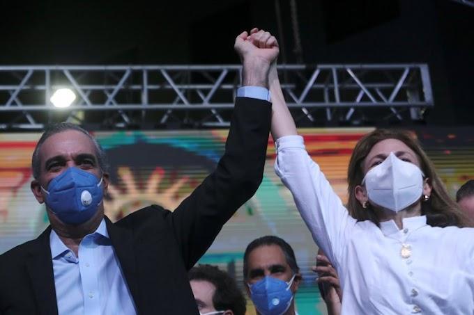 Luis Abinader y Raquel Peña son declarados oficialmente Presidente y Vicepresidenta de RD