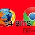 Como descargar Google Chrome y Firefox de 64 bits