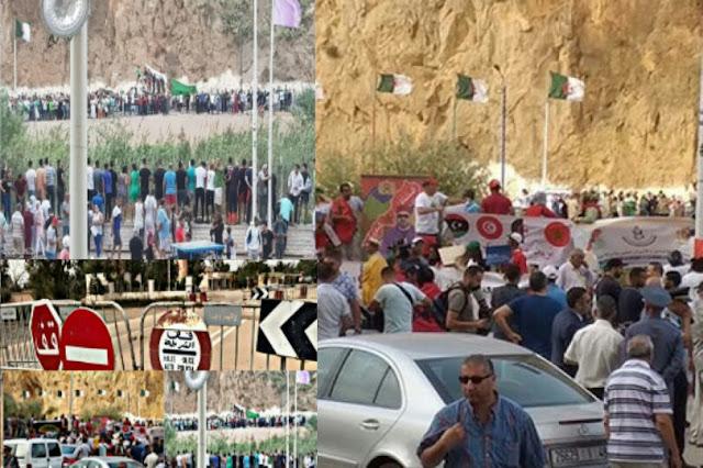 انباء عن إقتراب فتح الحدود المغربية الجزائرية