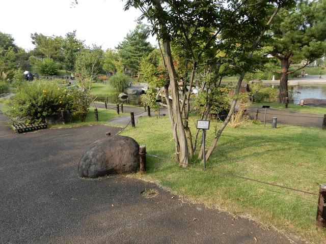 二子玉川の帰真園の園内風景