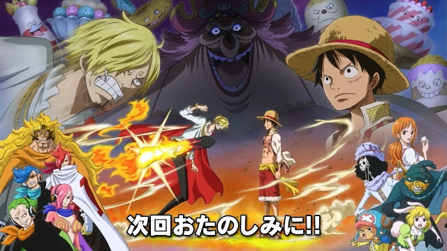 One Piece – Arc Whole Cake Island