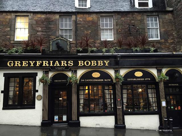 Greyfriars Bobby Edinburgh pub