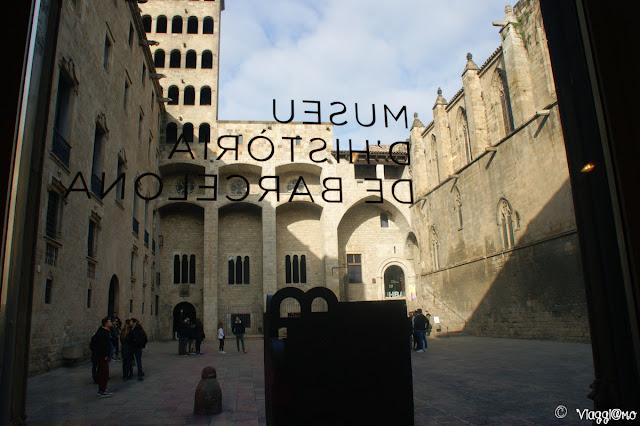 Museo di Storia di Barcellona nel quartiere Gotico