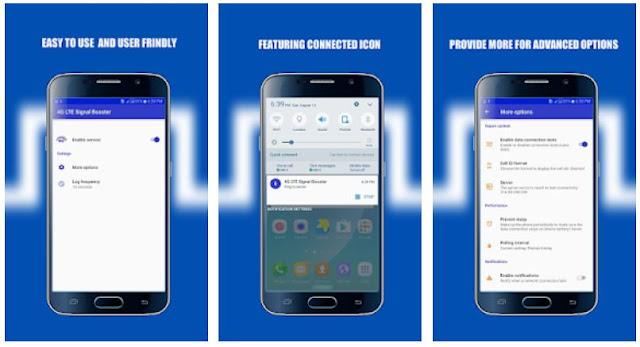 Aplikasi Penguat Sinyal 4G LTE