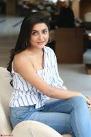 Avantika Mishra in One Shoulder Crop Top and Denim Jeggings ~  Exclusive 045.JPG