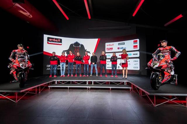 Lenovo assina parceria com a Aruba.it para o Ducati 2020 Superbike