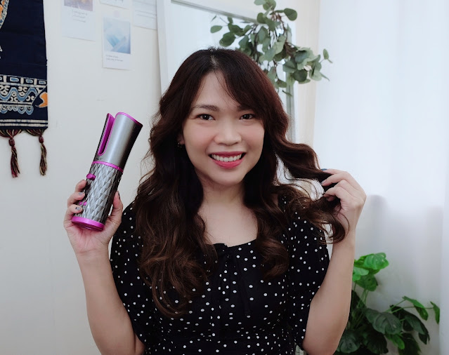 CKeyIn Cordless Automatic Hair Curler Review