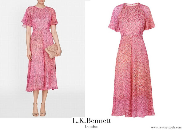 Kate Middleton wore L.K Bennett Silk Madison Dress
