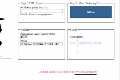 Tips Jingling Website/Blog Orang Lain Sambil Salto-Salto!