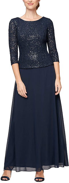 Half Sleeve Lace Mother of The Bride Dresses