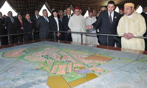 Mohammed VI inaugure la première école polytechnique du Maroc