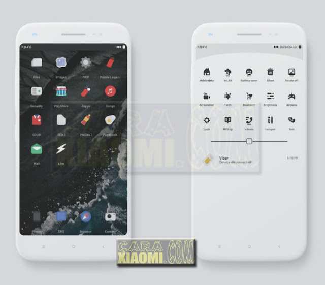 Download Link MIUI Theme Sour Mtz For Xiaomi Mtz Update by Oaxo: