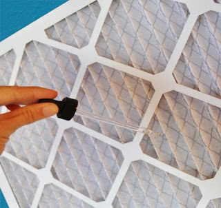 DIY Scented Air Filter