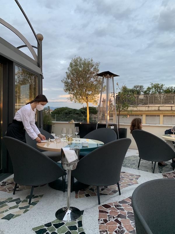 Settimo Restaurant Hotel Sofitel Villa Borghese Rome-Gillian Longworth McGuire