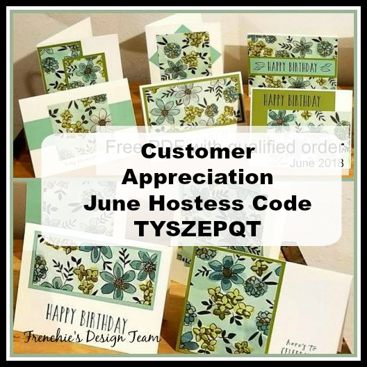 Customer Appreciation, One Sheet Wonder, Share What You Love, Perennial Birthday,