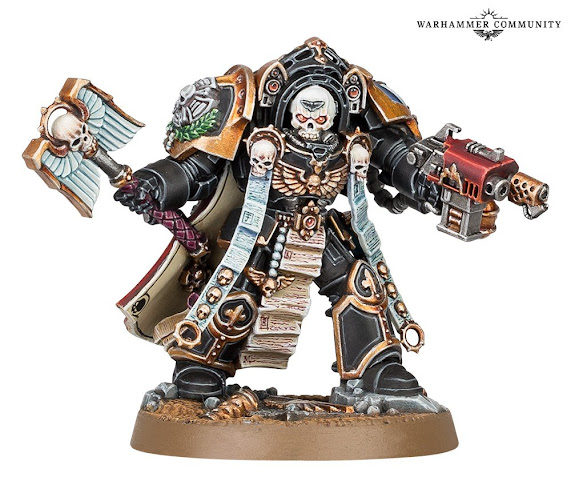 Capellán Armadura Exterminador Tarentus