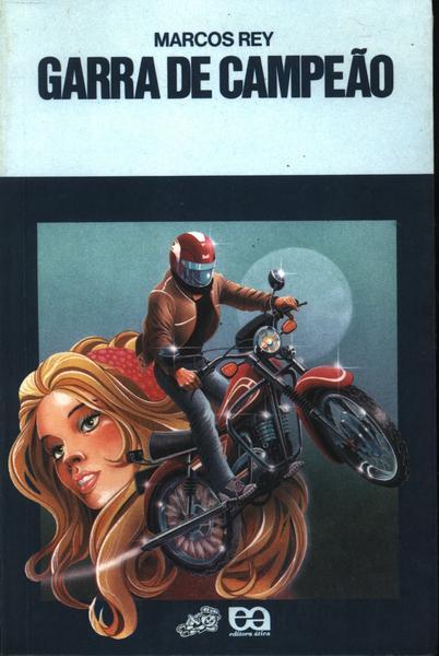 Capa do livro Garra de campeão, de Marcos Rey