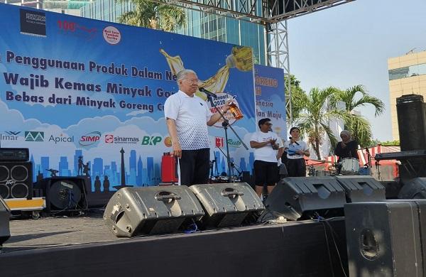 Menteri Perdagangan Hadiri Launching Wajib Kemas Minyak Goreng Dalam Negeri