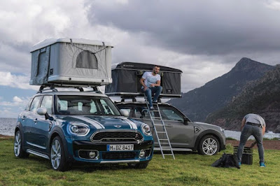 Mini Countryman Autohome AirTop Roof Tent (2017)