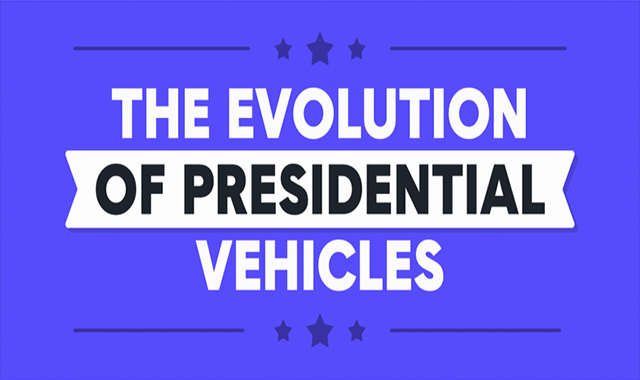 The Evolution of the Presidential Vehicles #infographic