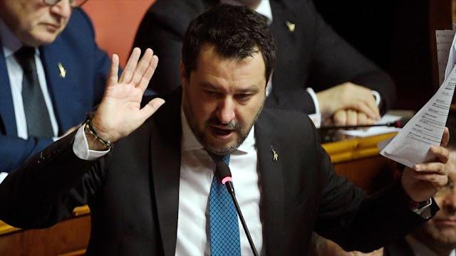 Italia podría salir de la UE por retraso en ayuda contra COVID-19