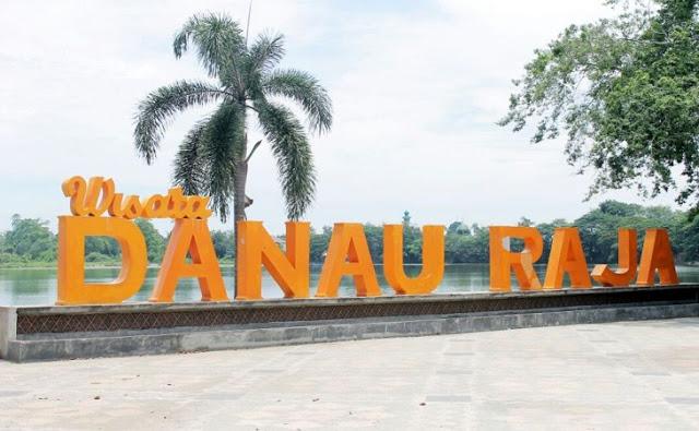 Menikmati Indahnya Danau Raja di Rengat, Provinsi Riau