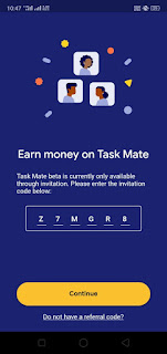 task mate app referral code