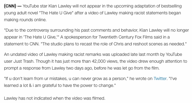 Free To Find Truth 42 58 113 157 Youtube Star Kian Lawley Loses