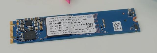 Intel Optane 16Gb