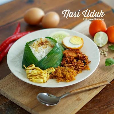 nasi uduk - menu sarapan pagi orang jawa