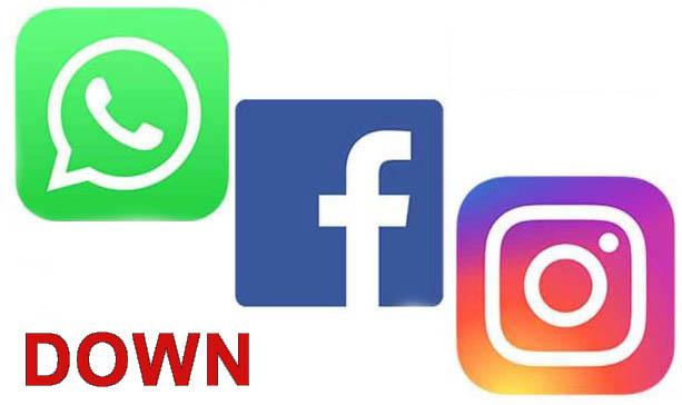 تعطل خدمات فيسبوك و واتساب و انستغرام