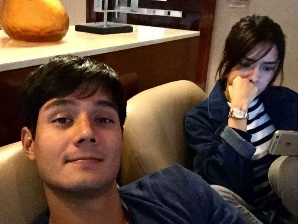 Daniel Matsunaga and Erich Gonzalez break up