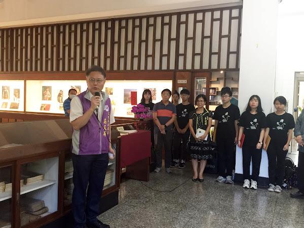 尋找台灣的詩情與歌聲  詩人康原創作在彰師大展出