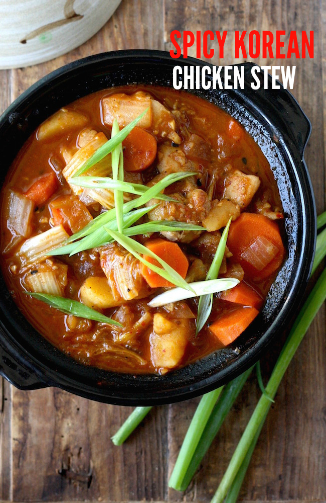 Easy spicy korean chicken stew dakdoritang season with spice easy spicy korean chicken stew dakdoritang forumfinder Image collections