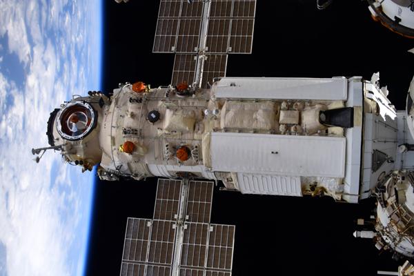 Russia's 'Nauka' Multipurpose Laboratory Module docks with the International Space Station...on July 29, 2021.