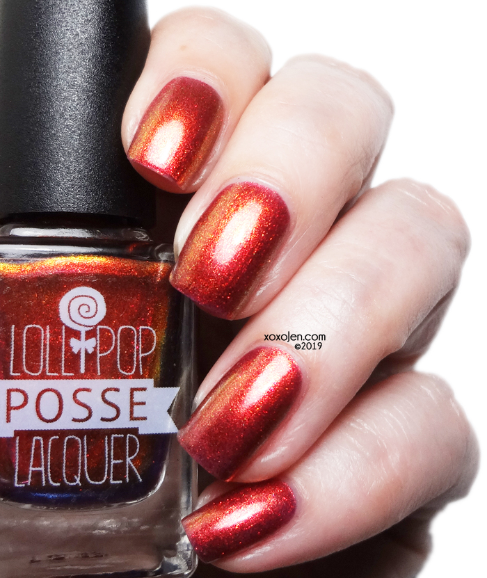 xoxoJen's swatch of Lollipop Posse: The Alchemical Child