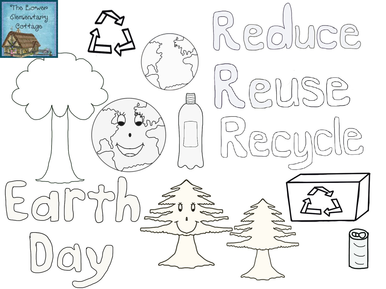 The Lower Elementary Cottage New Earth Day Clipart